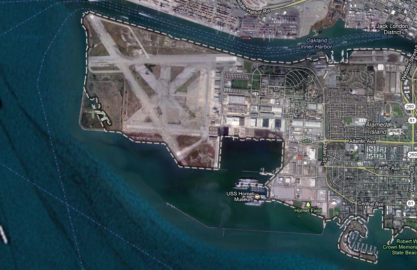 Existing businesses at Alameda Point